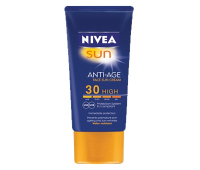 Nivea - Nivea Sun Anti-Ageing Face Sun Cream SPF 30 High Review - Beauty Bulletin - Protection, SPF Creams