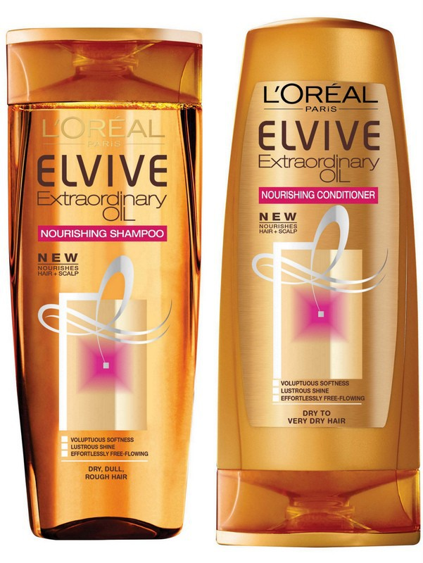 l oreal l oreal elvive extraordinary oil nourishing shampoo and