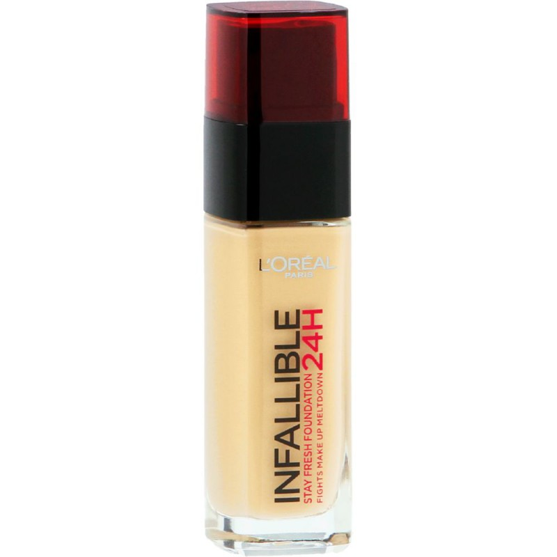 L'Oreal - L'Oreal Infallible 24H Stay Fresh Foundation Review - Beauty Bulletin - Foundations
