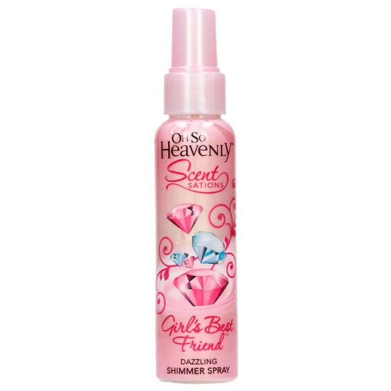 Oh So Heavenly Sugar Rush Fragranced Shimmer Spray