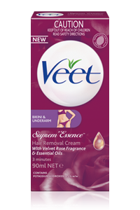 Veet Suprem' Essence Hair Removal Cream