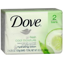 Dove - Dove GO Fresh Cool moisture cucumber and green tea beauty soap Review - Beauty Bulletin - Cleansers,Toners,Washes
