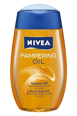 Nivea - Nivea Pampering Shower Oil  Review - Beauty Bulletin - Body oils