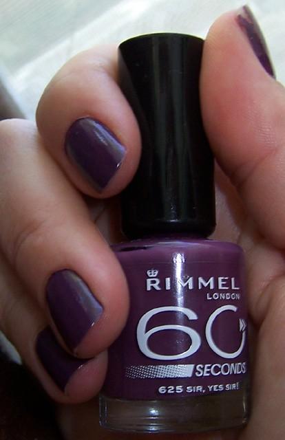 Rimmel - Rimmel London : 60 Seconds Nail Polish Review - Beauty ...