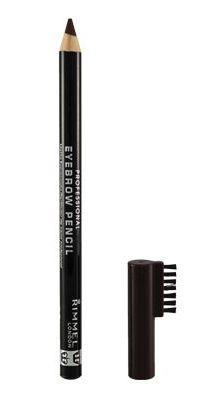 rimmel rimmel professional eyebrow pencil in 004 black