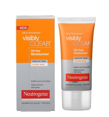 Neutrogena - Neutrogena - Visibly Clear Oil-Free Moisturiser Review - Beauty Bulletin - Moisturizers,Day Creams, Night Creams