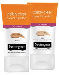 Neutrogena - Neutrogena® Visibly Clear® Correct & Perfect CC Cream Review - Beauty Bulletin - CC Creams