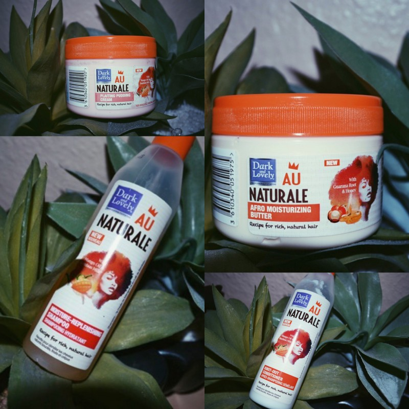 Dark and Lovely Au Naturale Range