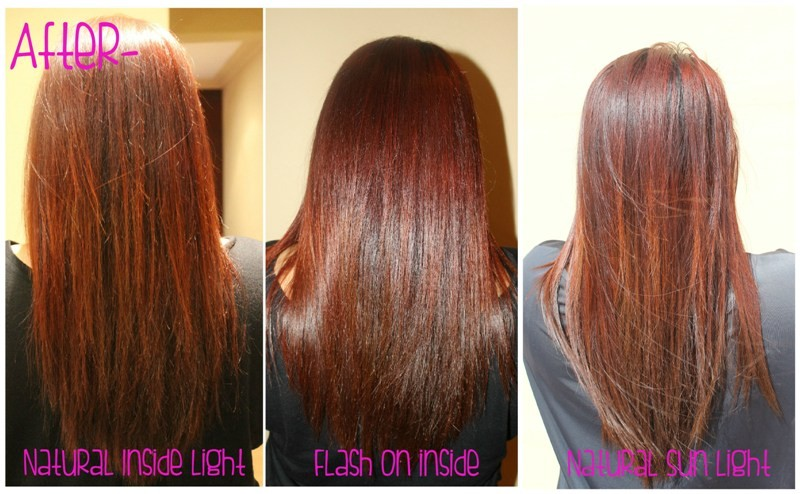 Review On Garnier Nutrisse Ultra Color In Intense Red