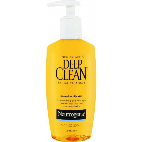 Neutrogena - Neutrogena Deep Clean Facial Cleanser Review - Beauty Bulletin - Cleansers,Toners,Washes
