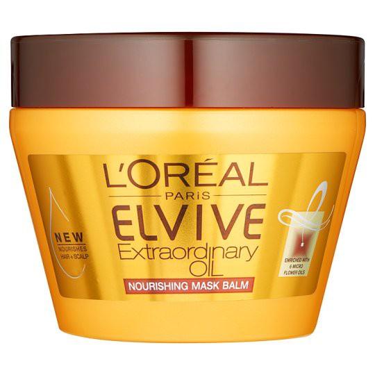 Loreal L Oreal Elvive Extraordinary Oil Nourishing Mask Balm Review Beauty Bulletin Treatments Masks