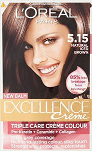 L Oreal Loreal Paris Excellence Hair Colorant In 5 15