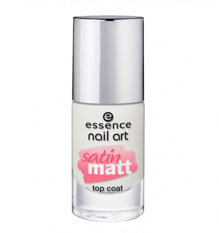 Essence Essence Nail Art Satin Matt Top Coat Review Beauty