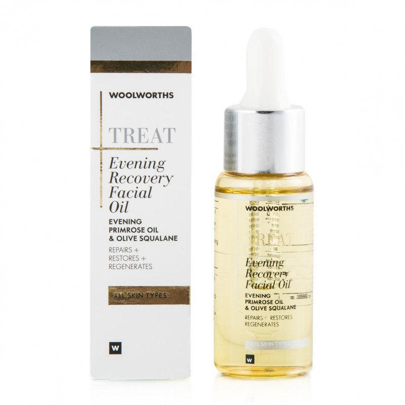Woolworths - Woolworths Evening Recovery Facial Oil Review