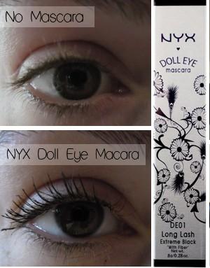 96c758c2c45 NYX - NYX Doll Eye Mascara - Long Lash Review - Beauty Bulletin ...