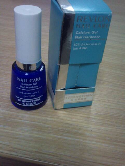 Revlon Nail Care Calcium Gel Hardener