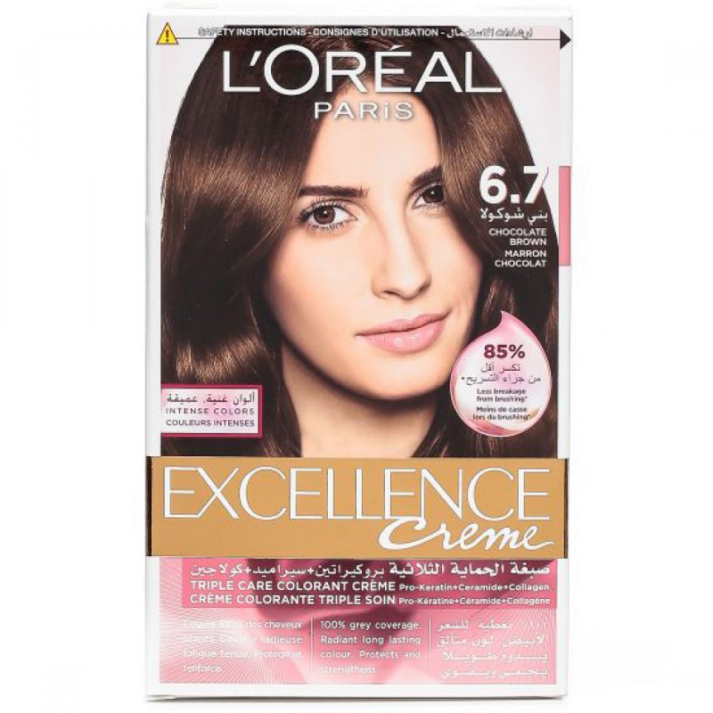 Loreal Loreal Excellence Creme 67 Chocolate Brown Review