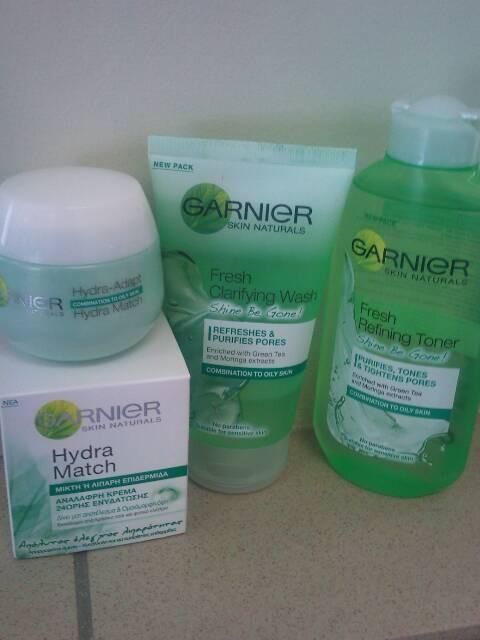 garnier green tea face wash