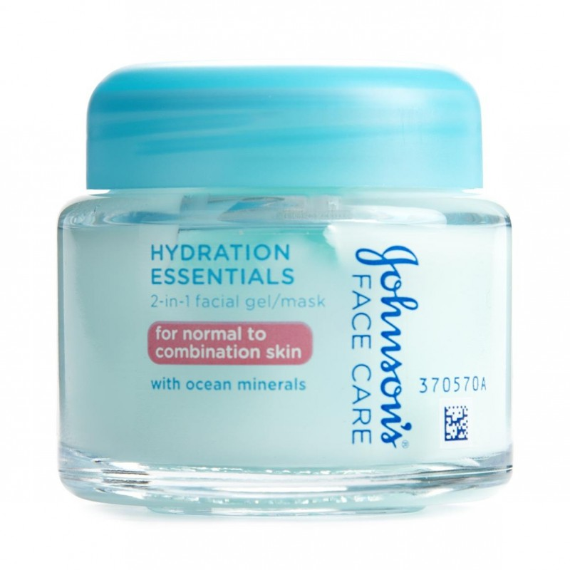 johnsons   johnson s hydration essentials 2 in 1 facial