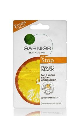 garnier peel off maske