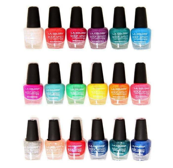 La Color L A Colors Color Craze Nail Polish Review Beauty Bulletin Nail Polishes
