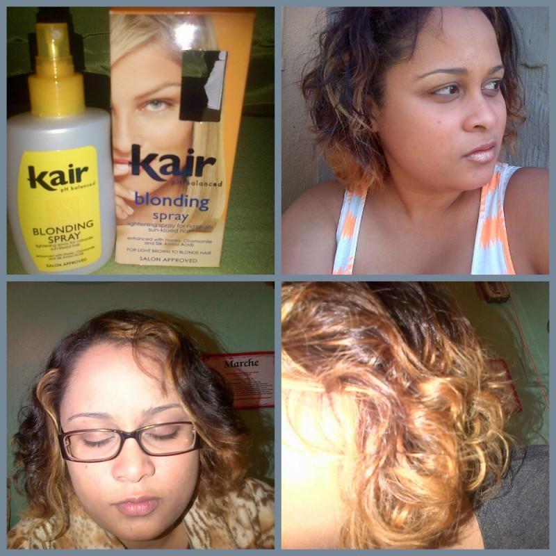 Kair Kair Blonding Spray Review Beauty Bulletin Hair Dyes