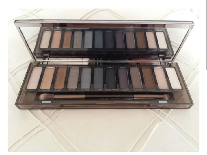 Makeup Looks | Urban Decay Naked Smoky Palette / Blossom In Blush