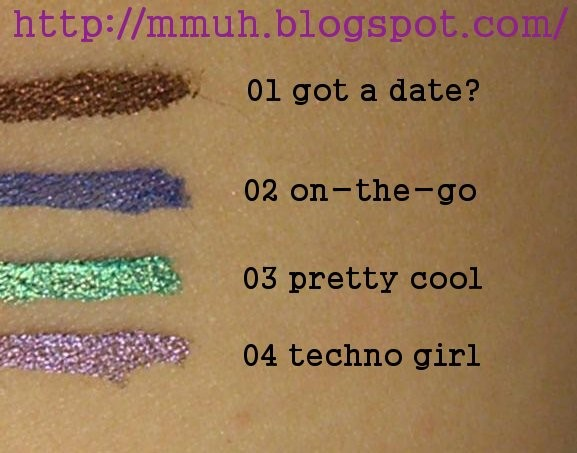 Essence Metal Glam Eyeliners