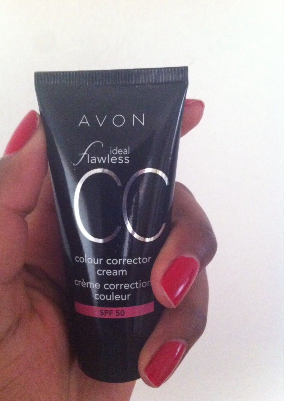 Review: Avon Ideal flawless CC cream (color corrector