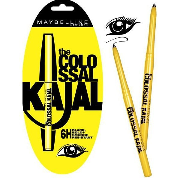 Maybelline - Maybelline The Colossal Kajal 12 Hour Extra
