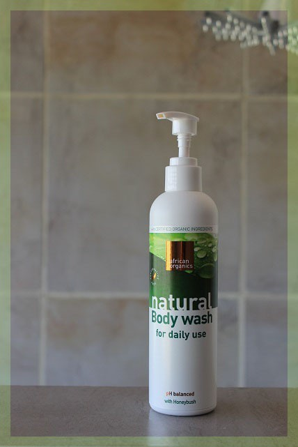 African Organics Natural Body Wash