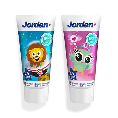 Jordan Kids Toothpaste (0-5 years)