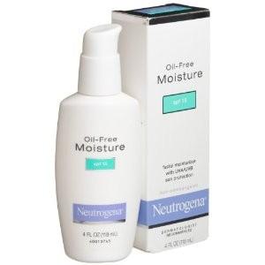 Neutrogena - Neutrogena Oil-Free Moisture SPF15  Review - Beauty Bulletin - Moisturizers,Day Creams, Night Creams