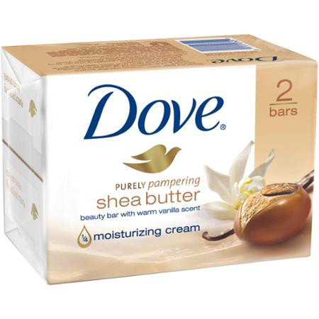 Dove - Dove Purely Pampering Shea Butter Beauty Bar Review - Beauty Bulletin - Bath Soaps, Cleansers, Washes