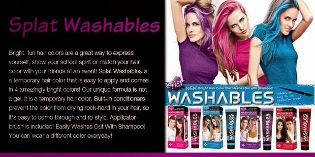 Splat Washables Hair Color 28 Images Splat Washables
