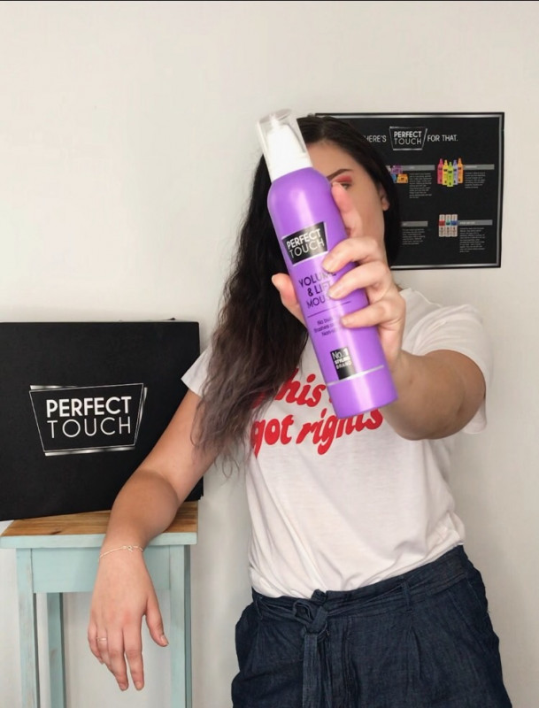 Perfect Touch Volume and Lift Mousse