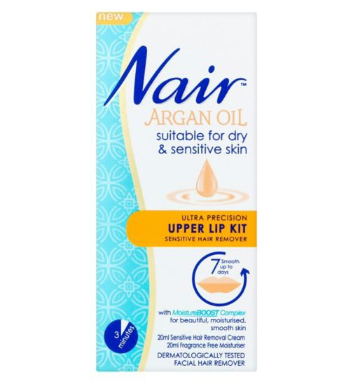 Nair Nair Argan Oil Upper Lip Kit Review Beauty Bulletin