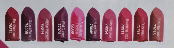 Avon Avon Ultra Colour Perfectly Matte Lipsticks Review Beauty