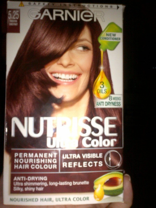 Garnier Garnier Nutrisse Ultra Colour Frosted Chestnut