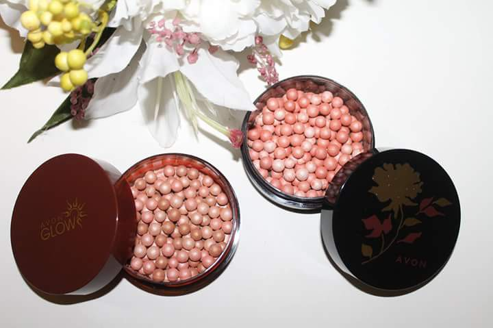 avon avon glow bronzing pearls warm review beauty bulletin
