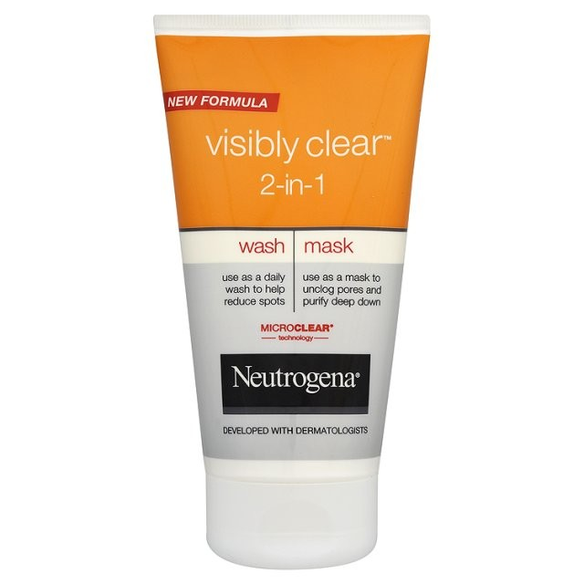 neutrogena neutrogena visibly clear 2 in 1 review beauty bulletin face masks. Black Bedroom Furniture Sets. Home Design Ideas