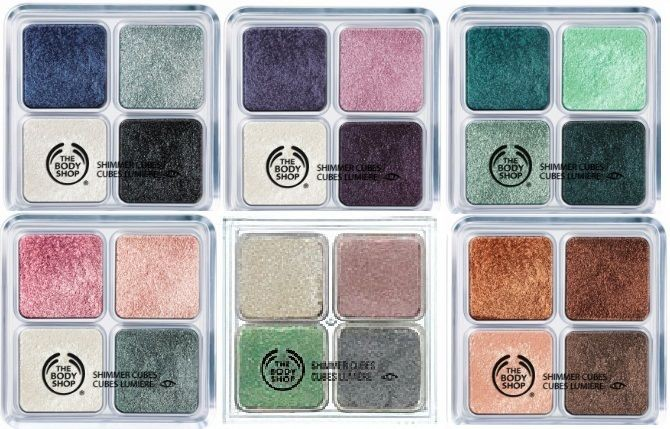 the body shop eye cube how to use