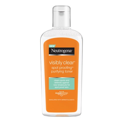 Neutrogena - NEUTROGENA® VISIBLY CLEAR® Spot Proofing™ Purifying Toner Review - Beauty Bulletin - Cleansers,Toners,Washes