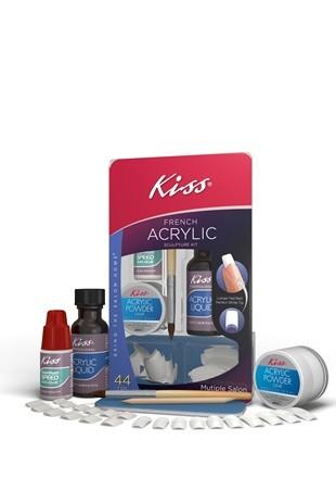 kiss french acrylic nail kit instructions