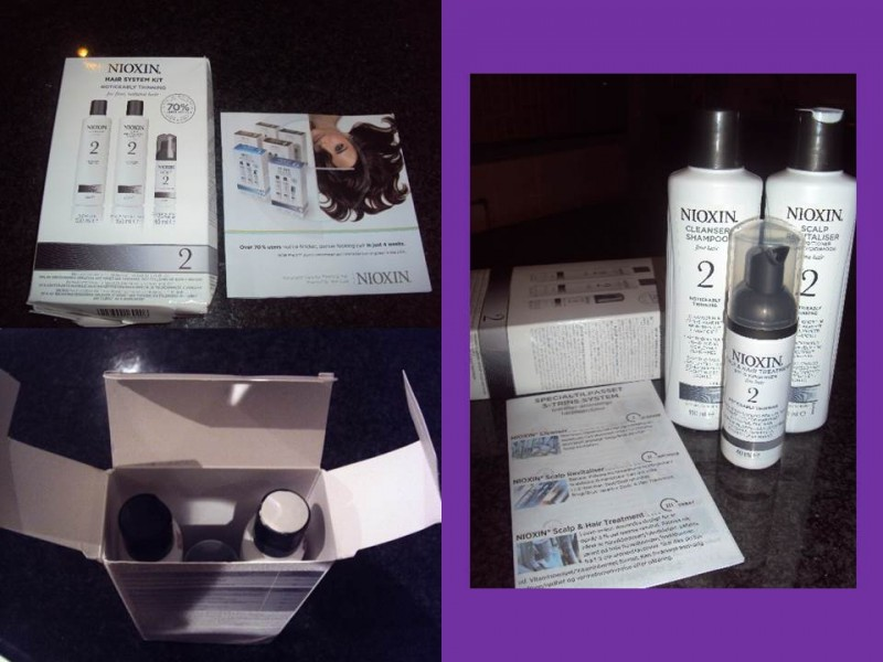 Noticeably Thinning Hair Listing Nioxin Hair System Kit 2 Noticeably Thinning Hair