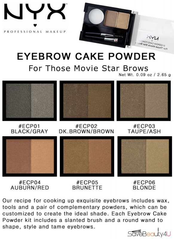 Image Result For Nyx Eyebrow Cake Powder