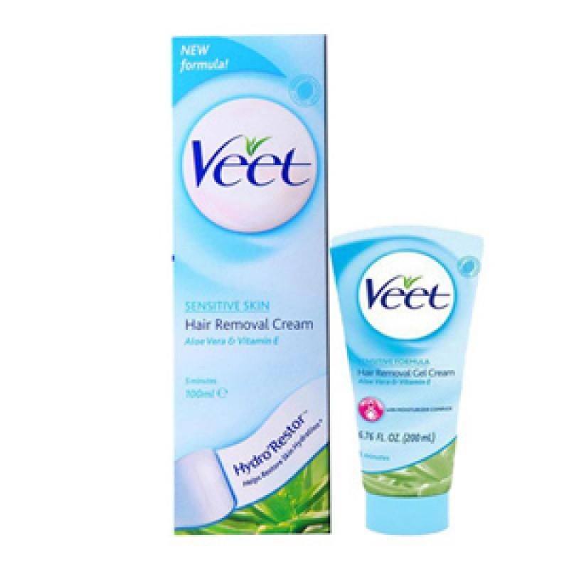 Veet - Veet Hair Removal for Sensitive Skin Review - Beauty Bulletin - Hair Removal