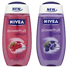 Nivea Powerfruit Refresh Shower Gel