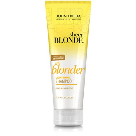 john frieda john frieda sheer blonde go blonder lightening shampoo review beauty bulletin. Black Bedroom Furniture Sets. Home Design Ideas