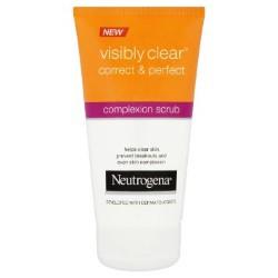 Neutrogena - Neutrogena® Visibly Clear® Correct & Perfect Complexion Scrub  Review - Beauty Bulletin - Scrubs, Exfoliators, Peels